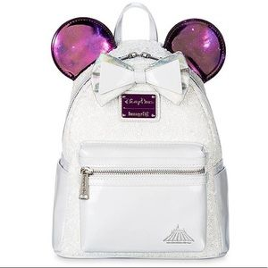 Disney Parks Space Mountain Loungefly Backpack
